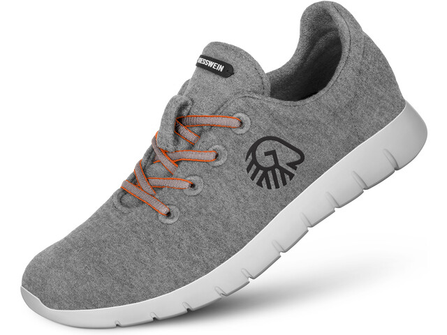 Giesswein W's Merino Runners Mid Shoes Slate